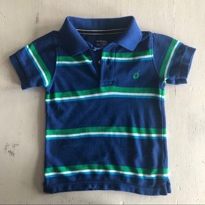 Boys polo shirt size 18/24 months.